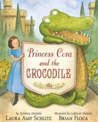 Princess Cora & the crocodile by Amy Schlitz