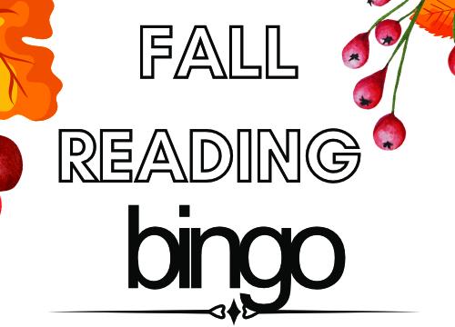 Fall Reading Bingo 2021